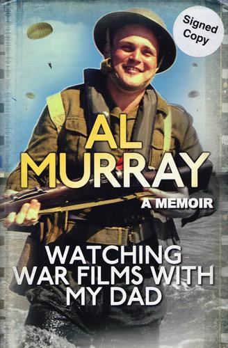 Al-Murray-autograph-the-pub-landlord-memorabilia-signed-comedian-stand-up-comedy-TV-show-signature-watching-war-films-with-my-dad-movies-memoir