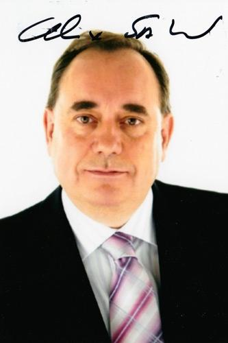 Alex-Salmond-autograph-signed-political-memorabilia-scottish-nationalist-party-first-minister-scotland-politics-snp