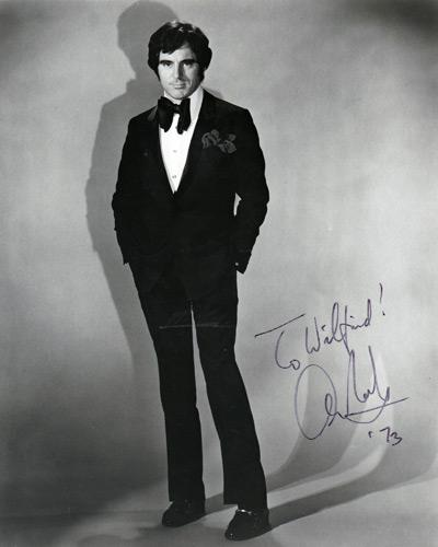 Anthony-Newley-signed-music-memorabilia-singer-legend-autograph-Feeling-Good-goldfinger-songwriter movie stage theatre
