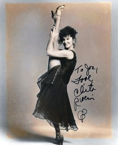 Chita-Rivera-autograph-signed-stage-musical-memorabilia-theatre-Anita-West-Side-Story-Nickie-Sweet-Charity-Velma-Kelly-Chicago-Aurora-Kiss-of-the-Spider-Woman-signature
