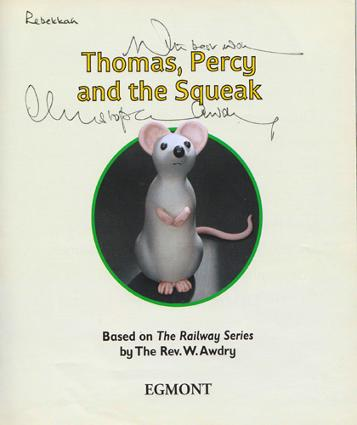 Christopher-Awdry-autograph-signed-thomas-the-tank-engine-book-reverend-rev-awdry-and-friends-childrens-signature-son-railway-series-memorabilia