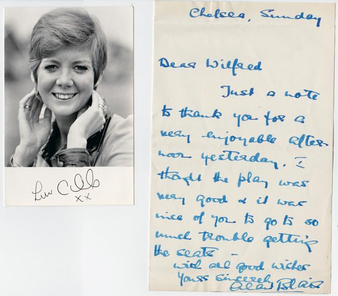 Cilla-Black-signed-music-memorabilia-singer-legend-autograph-Anyone-Who-Had-a-Heart-You're-My-World-Blind-Date-Surprise-Surprise