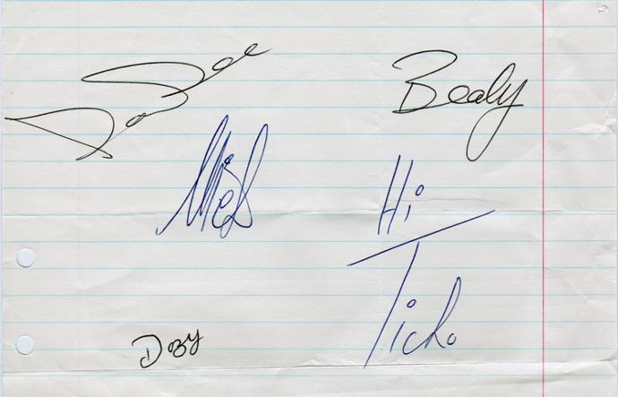 Dave-Dee-Dozy-Beaky-Mick-Tich-autograph-signed-pop-music-memorabilia-legend-xanadu-bend-it-Zabadak-Hold-Tight-Save-Me-Okay-fontana-records