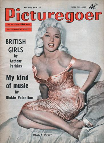 Diana-Dors-memorabilia-picturegoer-magazine-cover-photo-4-may-1957-Alan-Lake-Mary-Fluck-Diamond-City-The-Unholy-Wife-Prince-Charming-The-Long-Haul