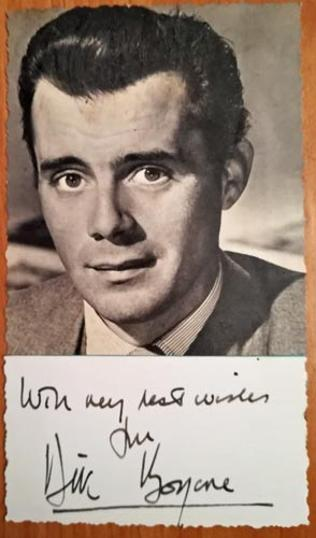 Dirk-Bogarde-autograph-signed-film-memorabilia-portrait-photo-signature-the-servant