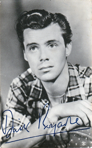 Dirk-Bogarde-memorabilia-dirk-bogarde-autograph-dirk-bogarde-signed-movies-film-memorabilia-cinema-the-servant-victim-death-in-venice-night-porter-bridge-too-far-darling-The-Woman-in-question-bob-baker