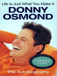 Donny-Osmond-signed-autobiography-Life-is-Just-What-you-Make-it