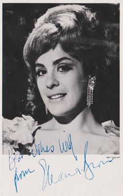 Eleanor-Bron-autograph-signed-TV-memorabilia-signature-Doctor-Dr-Who-Revelation-of-the-Daleks-Kara-City-of-Death-Bedazzled-Women-in-love-Help-Ahme-Rigby