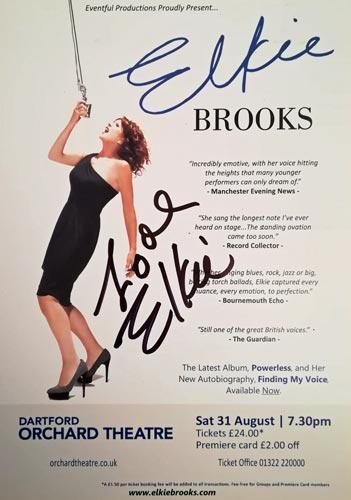 Elkie-Brooks-autograph-signed-music-memorabilia-2013-tour-programme-flyer-pearls-a-singer-queen-of-the-blues-vinegar-joe