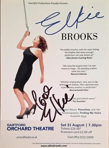 Elkie-Brooks-autograph-signed-music-memorabilia-tour-programme-flyer-pearls-a-singer-queen-of-the-blues-vinegar-joe-2013