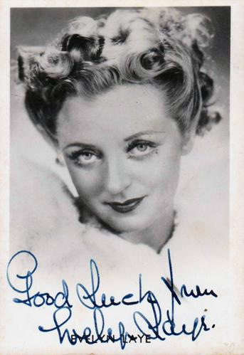 Evelyn-Laye-autograph-Evelyn-Laye-memorabilia-signed-theatre-memorabilia-Bitter-Sweet-Noel-Coward-Broadway-signature-celebrity-autographed-photo