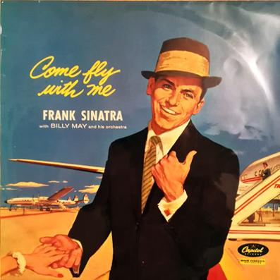 Frank-Sinatra-memorabilia-come-fly-with-me-lp-long-player-33-rpm-1958-ole-blue-eyes-jazz-autumn-in-new-york-blue-hawaii-april-in-paris-moonlight-in-vermont-brazil
