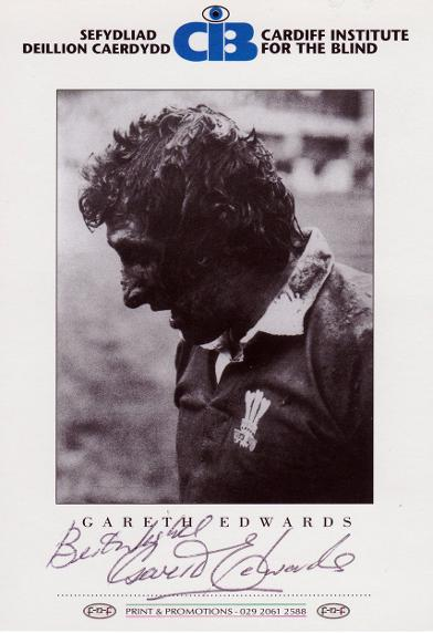 Gareth-Edwards-memorabilia-signed-Wales-rugby-memorabilia-charity-card-photo-autographed