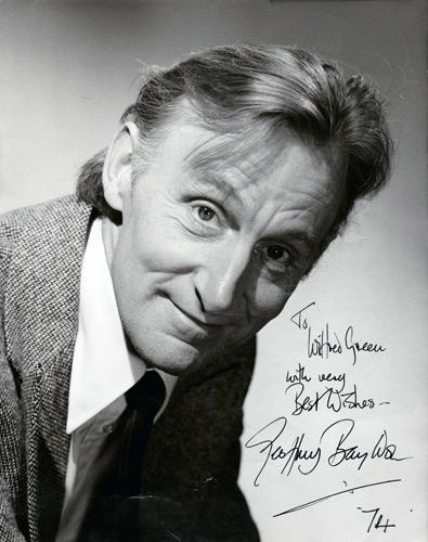 Geoffrey-Bayldon-signed-movie-tv-television-memorabilia-worzel-gummidge-Catweazle-To-Sir-with-Love-Casino-Royale-Organon-Dr-who-doctor-who-Paul-Hardcastle-The-Wizard-A-Night-to-Remember