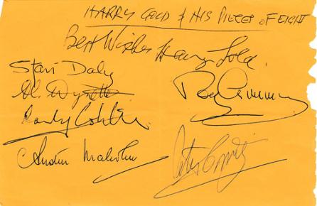 Harry-Gold-autograph-signed-big-band-memorabilia-pieces-of-eight-music-dixieland-bandleader-signatures