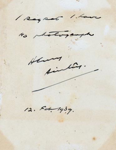 Henry-Ainley-autograph-Henry-Ainley-memorabilia-stage-theatre-memorabilia-Shakespeare-Herbert-Beerbohm-Tree-Paolo-and-Francesca-Othello-As-You-Like-It-Macbeth-Mark-Anthony