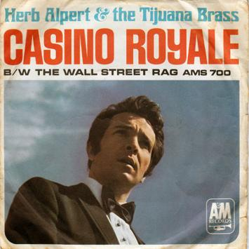 Herb-Alpert-memorabilia-and-the-Tijuana-Brass-Casino-Royale-theme-tune-45-rpm-James-Bond-memorabilia-007-memorabilia-Bond-songs-007-songs-Wall-Street-Rag