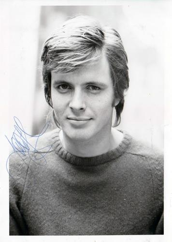 Ian-Ogilvy-autograph-signed-tv-television-movie-memorabilia-Simon Templar Return-of-the-Saint-Waterloo-Witchfinder-General-Death-Becomes-Her-Upstairs-Downstairs-No-Sex-Please-We're-British-Malibu-Shores
