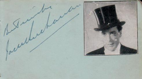 Jack-Buchanan-autograph-Jack-Buchanan-memorabilia-signed-film-memorabilia-The-Band-Wagon-Last-of-the-Knuts-Tonights-the-Night.A-to-Z-signed-autographed-book-page