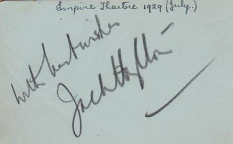 Jack-Hylton-autograph-Jack-Hylton-memorabilia-signed-music-memorabilia-band-leader-The-Soldiers-in-the-Park-Oh-Listen-to-the-Band-Merry-Widow-Kiss-Me-Kate-Kismet