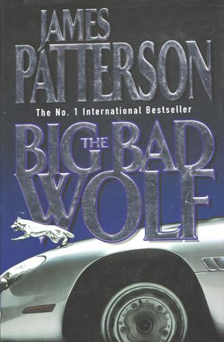 James-Patterson-autograph-signed-book-memorabila-the-big-bad-wolf-Alex-Cross-novel-2003-signature-first-edition