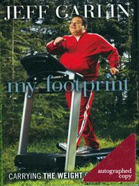 Jeff-Garlin-signed-My-Footprint-autobiography-book-Curb-Your-Enthusiasm