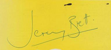 Jeremy-Brett-autograph-signed-sherlock-holmes-memorabilia-Freddy-Eynsford-Hill-My-Fair-Lady-Granada-TV-signature
