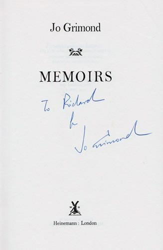 Jo-Grimond-autograph-signed-autobiography-memoirs-liberal-party-leader-political-figure-politics-signature