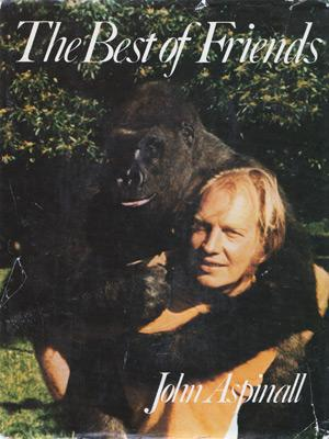 John-Aspinall-autograph-signed-book-memorabilia-first-edition-Best-of-Friends-zoo-Aspinalls-Howletts-Port-Lympne-Clermont-Club-Aspers-gambling-gorillas