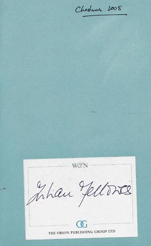 Julian-Fellowes-autograph-signed-book-Past-Imperfect-snobs-2008-oscar-winner-screenwriter-Downton-Abbey-Gosford-Park-Baron-West-Stafford-RNIB-Talking-Books