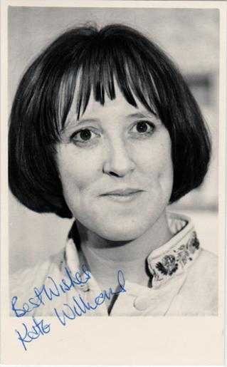 Kate-Williams-autograph-signed-tv-memorabilia-Joan-Booth-Love-Thy-Neighbour-Widows-Edna-the-Inebriate-Woman-EastEnders-Liz-Turner-Family-Affairs-Quadrophenia