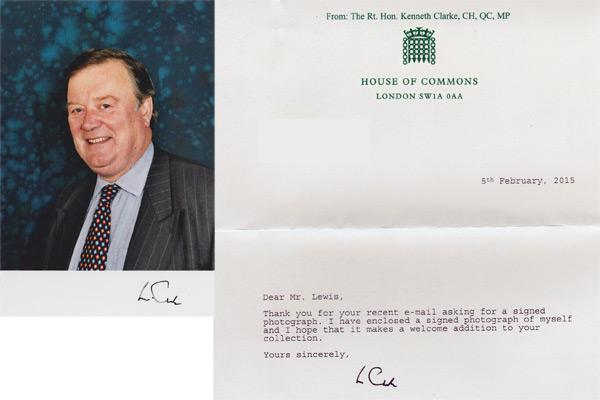 Kenneth-Clarke-autograph-signed-political-memorabilia-home-secretary-conservative-party-rushcliffe-chancellor-exchequer-uk-politics-tory-mp-minister-of-parliament-house-of-commons