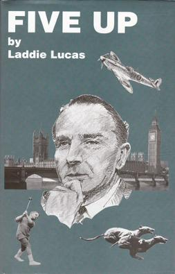 Laddie-Lucas-memorabilia-Laddie-Lucas-autograph-signed-golf-memorabilia-autobiography-Five-Up-Princes-Golf-Club-RAF-Spitfire-pilot-DSO-Battle-of-Britain-MP-Wee-Laddie