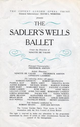 Margot-Fonteyn-autograph-signed-royal-ballet-memorabilia-Robert-Helpmann-Sadlers-Wells-dance-prima-ballerina-Michael-Somes-Pamela-May-Alexis-Rassine