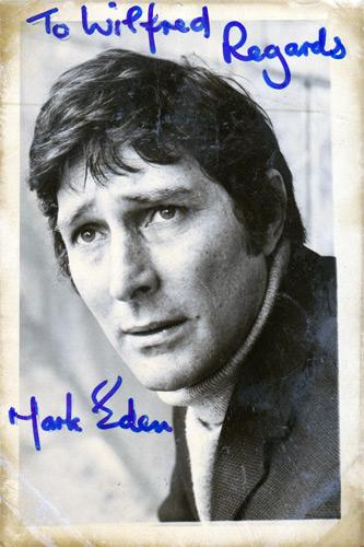 Mark-Eden-Alan-Bradley-Coronation-Street-autograph-signed-tv-soap-memorabilia-rovers-return-Doctor-Who-Marco-Polo-The-Prisoner-100-Lord-Peter-Wimsey-Sue-Nicholls-Weatherfield-Corrie