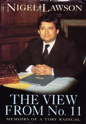NIGEL-LAWSON-signed-book-The-View-from-Number-11-political-autobiography-autograph-memorabilia