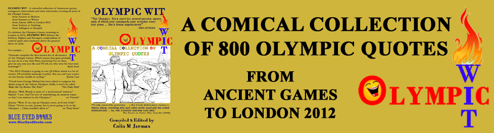Olympics quotes book funny sports quotations olympic games humour quotable wit