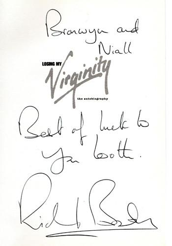 Richard-Branson-autograph-signed-autobiography-Losing-my-Virginity-virgin-group-signature-hand-written-message-book-memoirs-career-life-history-records