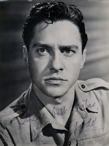 Richard-Todd-Hollywood-movie-film-legend-autograph-signed-memorabilia-photo-cinema-Dambusters-celebrity
