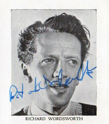 Richard-Wordsworth-autograph-signed-old-vic-theatre-memorabilia-The-Quatermass-Xperiment-shakespeare-Lock-Up-Your-Daughters-Victor-Carroon-signature