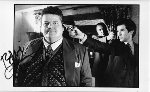 Robbie-Coltrane-signed-James-Bond-007-photo-goldeneye-1995-autograph-pierce-brosnan-autograph-memorabilia