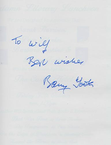 Round-the-Horne-signed-Barry-Took-autograph-bbc-radio-memorabilia-kenneth-williams-marty-feldman-book-unpublished-scripts-complete-utter-history-signature-writer