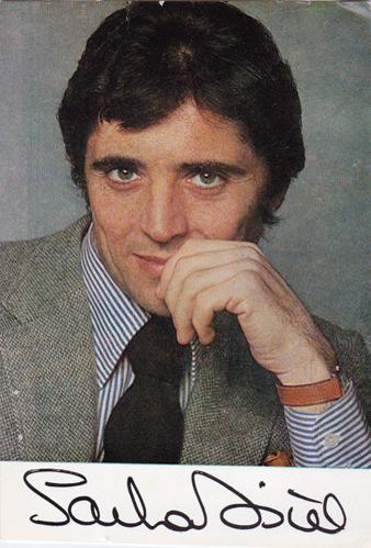 Sacha-Distel-signed-music-memorabilia-singer-autograph-french-france-Raindrops-Keep-Falling-On-My-Head-Good-Life