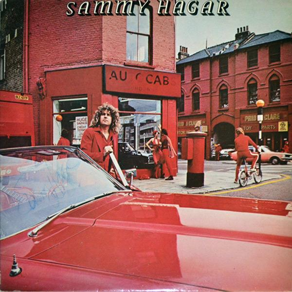 Sammy-Hagar-LP-The-Red-Rocker-Van-Halen-Montrose-1977-Red-Album-Hard-Rock-music-memorabilia-Catch-The-Wind-Free-Money-Fillmore-Shuffle-Hungry-Eclipse-Capitol