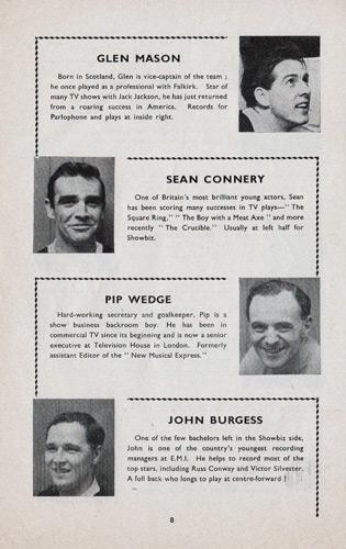 Sean-Connery-memorabilia-fabulous-Showbiz-XI-celebrity-football-team-marquess-of-Hertfords-star-XI-Alexander-Stadium-1960-james-bond-007