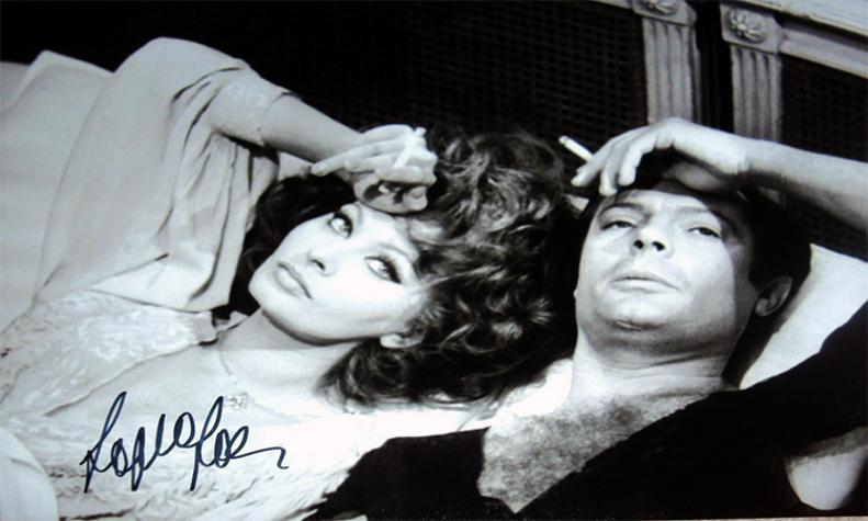Sophia-Loren-autograph-signed-film-memorabilia-Countess-from-Hong-Kong-Marlon-Brando-Two-Women-Black-Orchid-Millionairess-El-Cid-It-Started-in-Naples