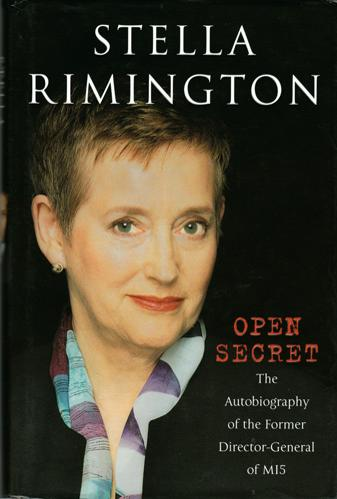 Stella-Rimington-autograph-signed-autobiography-Open-Secret-book-Director-General-MI5-MI6-M-Rimmington-secret-service-spies