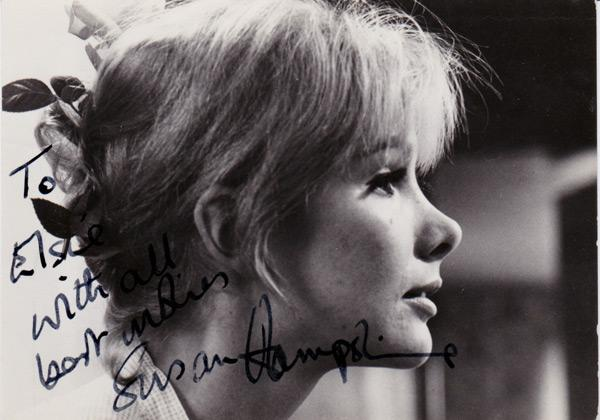 Susan-Hampshire-signed-autograph-photo-tv-television-memorabilia-forsyte-sage