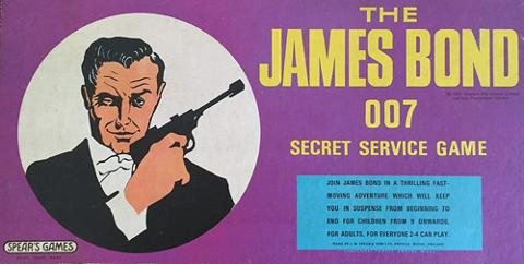 The-James-Bond-007-secret-service-board-game-spears-ian-fleming-spies-spy-vintage-original-box-complete-1965-uk-version-milton-bradley-london-cairo