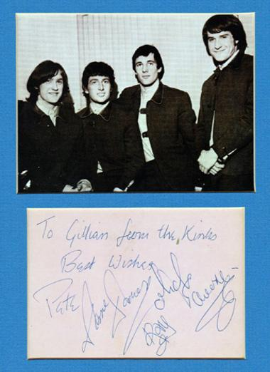 The-Kinks-autograph-the-kinks-memorabilia-ray-davies-autograph-dave-davies-autograph-mike-avory-autograph-pete-quaife-autograph-You-Really-Got-Me-lola-Sunny-Afternoon
